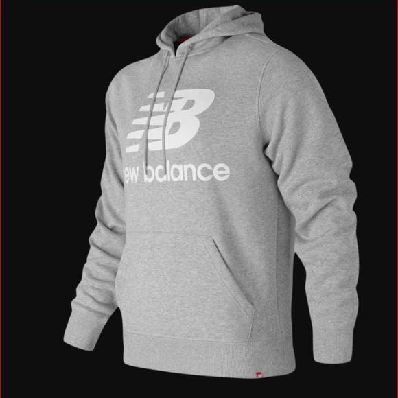 554b8821cd6bb New Balance Shirts   Essentials Brushed Pullover Hoodie   Poshmark